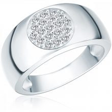 RafaelaDonata gyűrű Sterling ezüst cirkónia Fehér gyűrű 60