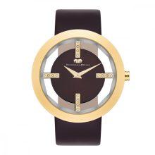 RWS Lucrezia női óra neasztalcél 3 ATM barna/arany
