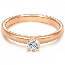 Tresor gyűrű Sterling ezüst cirkónia Fehér gyűrű 48