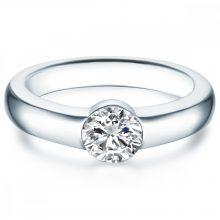 Tresor gyűrű Sterling ezüst verziertKristhogyn vonSwarovski