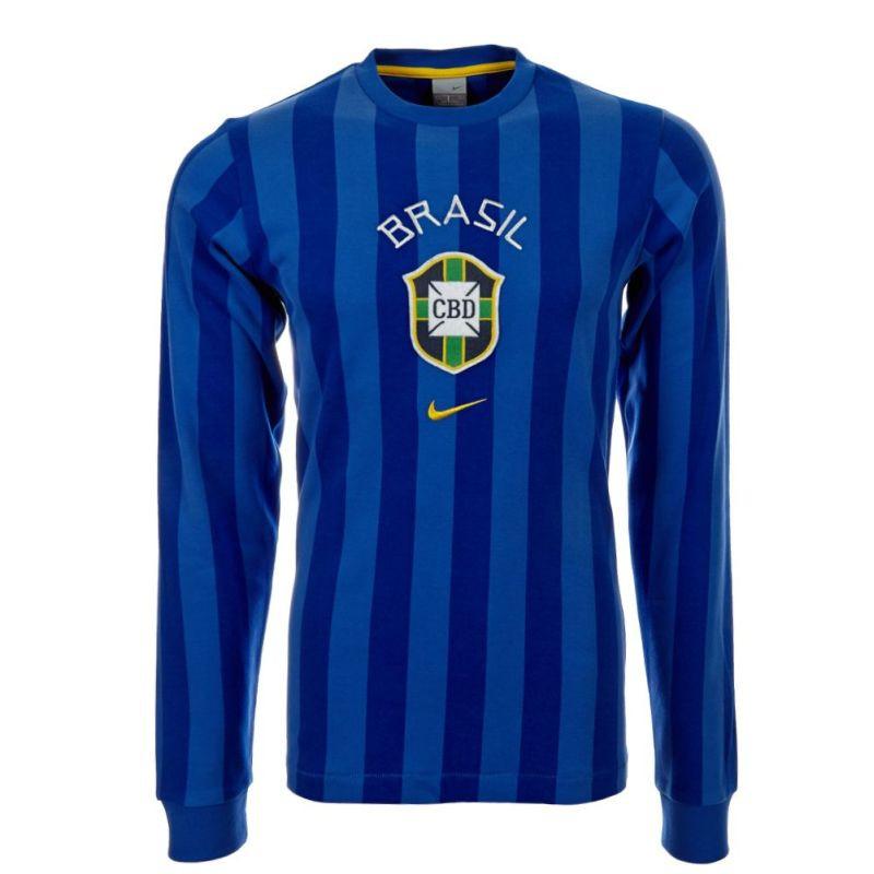 b8af8c6a4666 Nike férfi kék hosszú ujjú póló XL