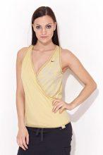 Nike női mustársárga póló S/36