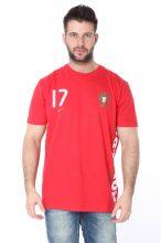 Nike férfi piros  póló XL