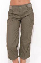 Nike női sötétzöld  bermuda nadrág S/36