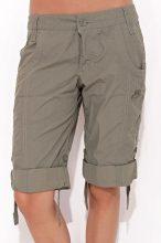 Nike női sötétzöld  bermuda nadrág XS/34