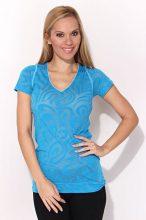 Reebok női kék  póló 38-S/M