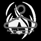 Akzent Das Ékszerkarkötő nemesacél és kaucsuk  in fekete IP fekete-bevonat
