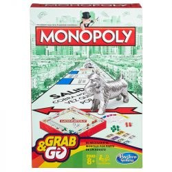 Monopoly utazó Spanishkártya gyerek