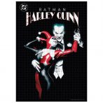 DC Comics Joker és Harley Quinn puzzle 1000pcs gyerek