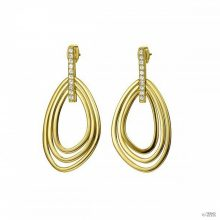 Joop Női fülbevaló ékszer nemesacél arany csíkoss JPER00002B000