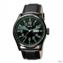 Esprit férfi óra  óra karóra  Axis zöld bőr ES103151003