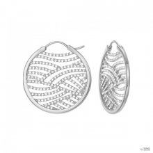 Esprit Női fülbevaló ékszer Creole nemesacél jw50236 ezüst ESCO01965A000