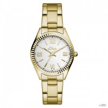 s.Oliver  női óra karóra  analóg  IP arany színűSO-15112-MQR