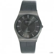 Bering Ékszer Unisex férfi női óra  óra karóra  Titan vékony klasszikus - 11935-404-1 bőr kroko