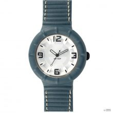 Hip Hop óra  óra bőr nagyméretű HWU0210 kék pacifico