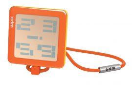 ODM Unisex férfi női narancssárga Quartz óra karóra DD102-6