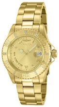 Invicta női 12820 Pro Diver köves-jelölők arany színű - óra karóra