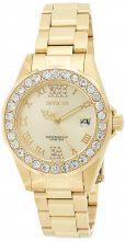 Invicta női 15252 Pro Diver arany színű számlap arany színű -Neasztalcél bevonatú óra karóra