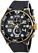 Invicta férfi 15396 Pro Diver analóg kijelző Quartz fekete óra karóra