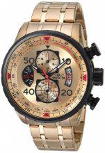 Invicta férfi 17205 pilóta 18k gold ion-plated színű óra karóra