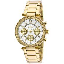 Invicta női 21387 Angel 18k arany színű nemesacél bevonatú Karkötő óra karóra