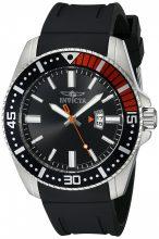Invicta férfi 21392 Pro Diver analóg kijelző Quartz fekete óra karóra