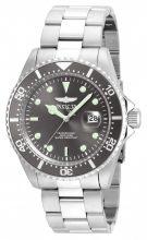 Invicta férfi 'Pro Diver' Quartz nemesacél Diving óra karóra, szín:ezüst- (Model: 22050)