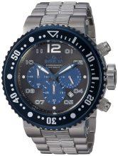 Invicta férfi Pro Diver Quartz óra karóra - szíj, ezüst, 29.3 (Model: 25074