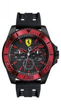 Scuderia Ferrari férfi 'XX Kers' Quartz nemesacél és szilikon casual óra karóra, szín:fekete(Model: 0830310)