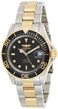 Invicta férfi 8927 Pro Diver Collection automata óra karóra, arany színű -/fekete