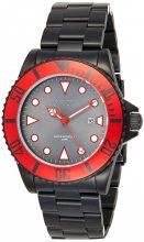 Invicta férfi 'Pro Diver' Quartz nemesacél casual óra karóra, szín:fekete(Model: 90296)