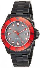 Invicta férfi 'Pro Diver' Quartz neasztalcél alkalmi óra karóra, szín:fekete(Model: 90296)