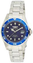 Invicta férfi 9204 Pro Diver Collection ezüst- óra karóra