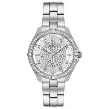 Bulova női Quartz nemesacél casual óra karóra, szín:ezüst-d (Model: 96L236)