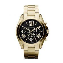Michael Kors arany színű  nemesacél bevonatú  óra karóra fekete