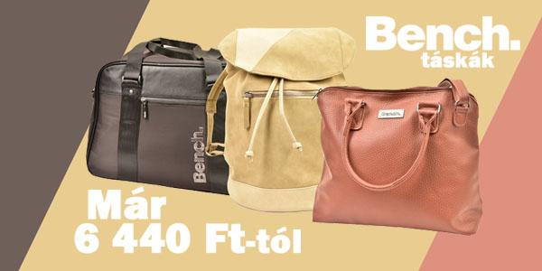 Bench táskák 6 440 Ft-tól!