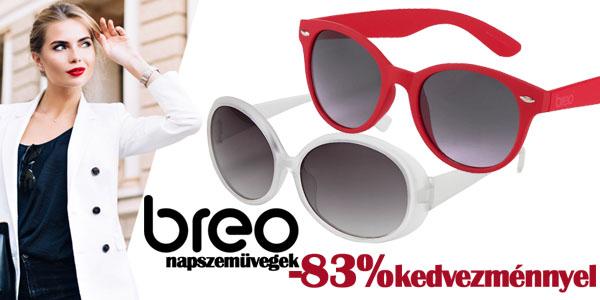 Breo napszemüvegek -83% kedvezménnyel!