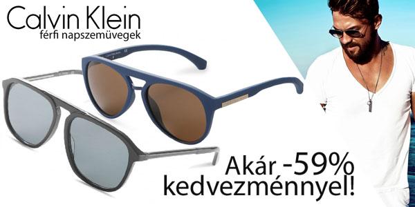 Calvin Klein napszemüvegek akár -59% kedvezménnyel!
