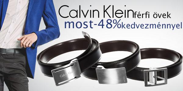 Calvin Klein férfi övek most -48% kedvezménnyel!