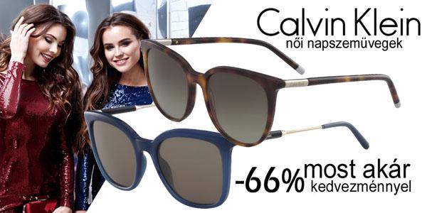 Calvin Klein női napszemüvegek akár -66% kedvezménnyel!