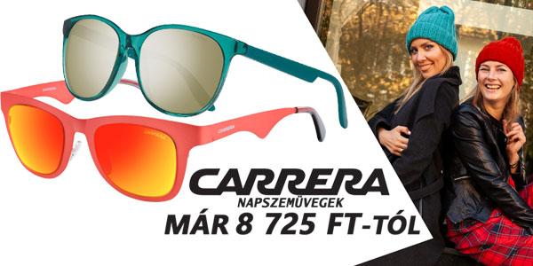 Carrera napszemüvegek már 8 725 Ft-tól!