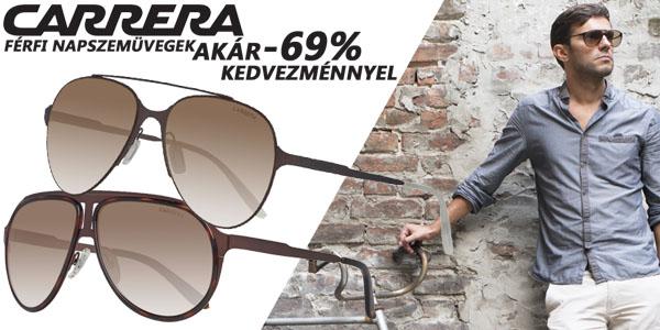 Carrera napszemüvegek akár -69% kedvezménnyel!