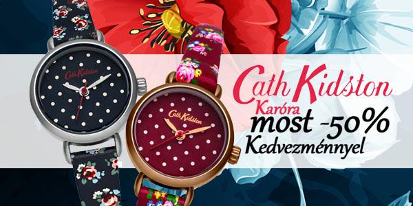 Cath Kidston karórák most féláron!