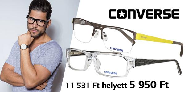 Converse szemüvegkeretek most 5 590 Ft-ért!