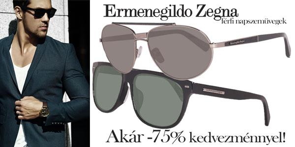 Ermenegildo Zegna napszemüvegek akár -75% kedvezménnyel!