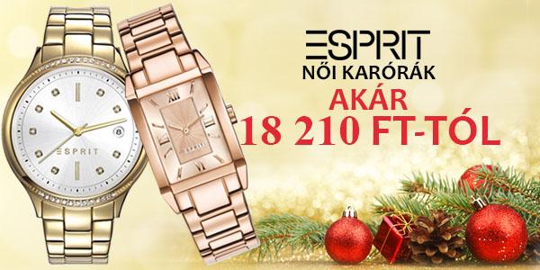 Esprit női karórák akár 18 210 Ft-tól!