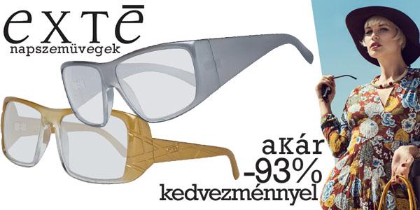 Exte napszemüvegek akár -93% kedvezménnyel!