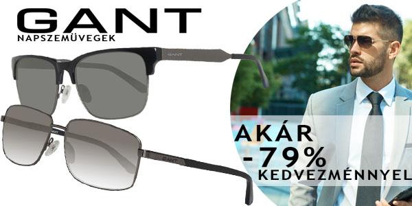 Gant napszemüvegek akár -79% kedvezménnyel!