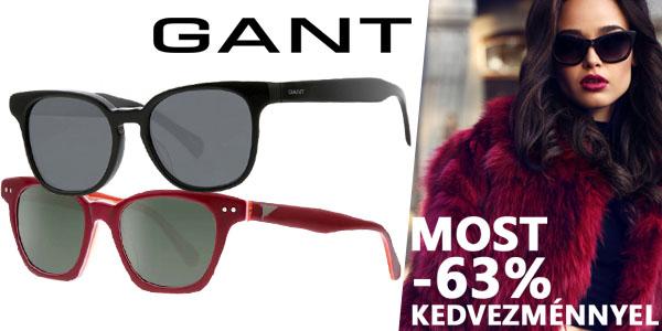 Gant napszemüvegek -63% kedvezménnyel!