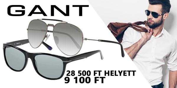 Gant napszemüvegek 9 100 Ft-ért!